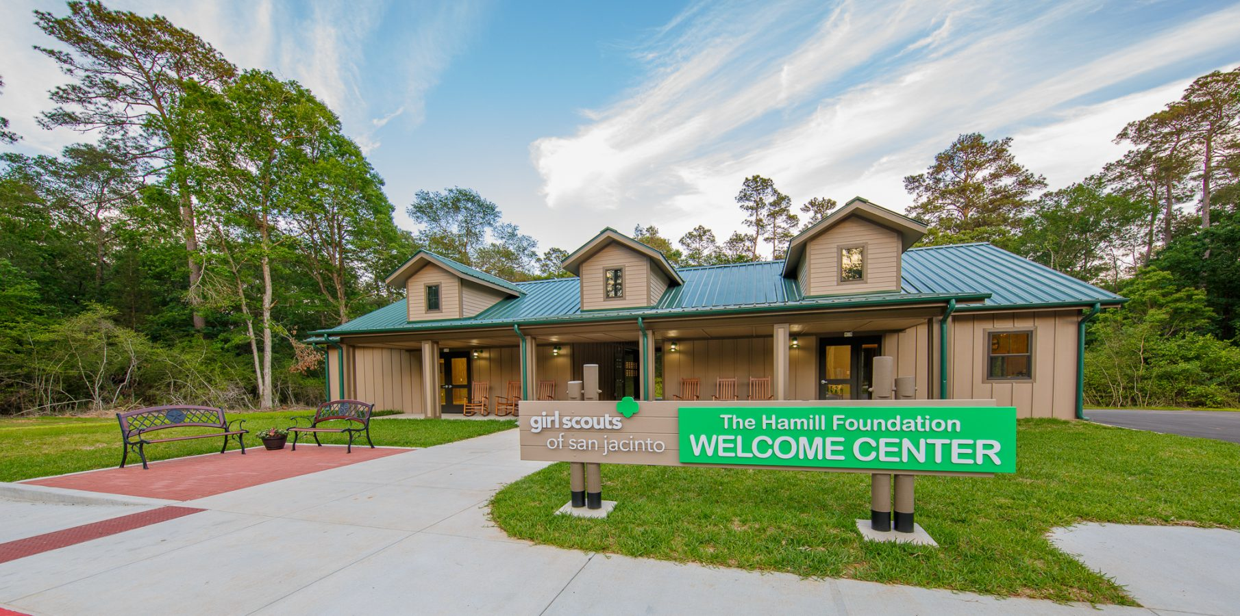 Camp Agnes Arnold Welcome Center